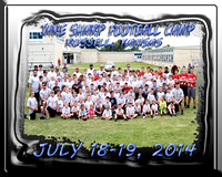 Jake Sharp Football Camp 2014 Russell Kansas