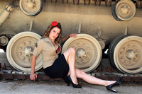Pin Up Military Style